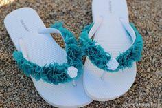 dress up flip flops