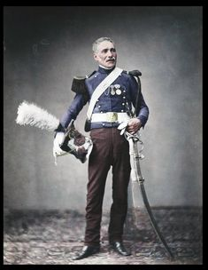 594fbd82 Incredible colourised pictures bring to life the veterans of Napoleon's  Grande Armée who fought in the Napoleonic wars 200 years ago