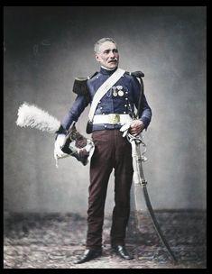 Napoleon's Grande Armée veteran - Monsieur Dreuse of the 2nd Light Horse Lancers of the Guard, fought 1813-1814