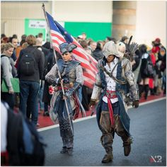 AC III - Connor and Aveline at F.A.C.T.S. 2012-2 by *RBF-productions on deviantART