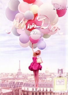 You are interested in Tim Walker - Ad Campaign Fragrance Miss Dior Cherie? Fashion ads, pictures, prints and advertising by Tim Walker - Ad Campaign Fragrance Miss Dior Cherie can be found here. Miss Dior, Tim Walker, Street Photography, Art Photography, Fashion Photography, Ballons Photography, Carnival Photography, Whimsical Photography, Pinterest Photography