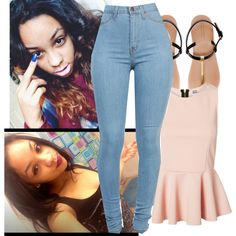 A fashion look from July 2014 featuring sleeveless tops and thong sandals. Browse and shop related looks.