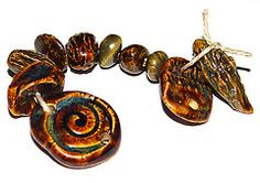 handcrafted rustic beads - Google Search