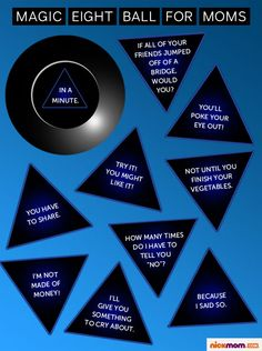 Magic Eight Ball for Moms