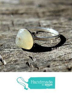 Malibu Agate set in Sterling Silver Stacking Ring - Size 7 from Silver and Slag http://www.amazon.com/dp/B01BH7QXPK/ref=hnd_sw_r_pi_dp_oZITwb1YDGC6M #handmadeatamazon