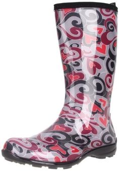 "Kamik Women's Cherie Rain Boot Kamik. $54.50. Heel measures approximately 0.75"". Made in Canada. Shaft measures approximately 11"" from arch. synthetic. Boot opening measures approximately 13.5"" around. Rubber sole"