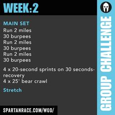 Team Challenge: Group WOD 1.2 - SPARTAN RACE™ Blog