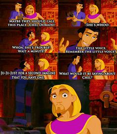 The Road to El Dorado. CLICK FOR GIF. I love this part of the movie.