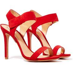 Schutz Dubia Simple Strap Sleek Heels found on Polyvore