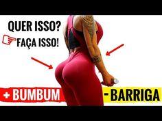 AUMENTAR BUMBUM E PERDER BARRIGA 4 Min de Exercício Para Perder Barriga e Aumentar Gluteos Em Casa - YouTube