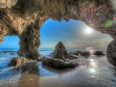 Check! Been there. Saw that! Sea cave at El Matador State Beach. (between santa barbara and santa monica)