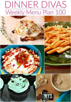 Dinner Divas Menu Plan focuses on quick and easy recipes to help you get dinner on the table. #mealplan #menuplan #menuplanning Healthy Dishes, Easy Healthy Recipes, Quick Easy Meals, Most Popular Recipes, Favorite Recipes, Meal Prep For Work, Veggie Cakes, Weekly Menu Planning, Shredded Chicken Recipes