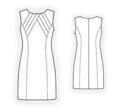 Dress Sewing Pattern 4347   Craftsy