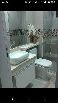 Rustic Bathroom Designs, Bathroom Design Small, Bathroom Layout, Bathroom Interior Design, Modern Bathroom, Interior Design Living Room, Design Rustique, Bad Styling, My Ideal Home