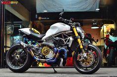 Ducati Monster 1200 độ siêu khủng với loạt đồ chơi đắt giá | Show xe - 2banh.vn
