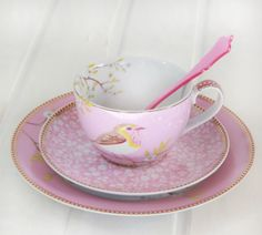 this tea cup and saucer set from pip studio is gorgeous