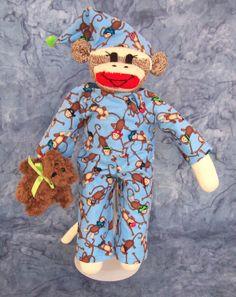 Joshua Sock Monkey