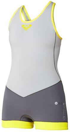 Roxy XY Springsuit Cross Back Short John Wetsuit Women  77ff2740d
