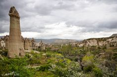 """At about the halfway point, we came across one of Cappadocia's trademark """"Fairy Chimney"""" villages, that was slowly being engulfed by establishments belonging to the hospitality industry but in saying that, it definitely had a lot more of a unique vibe to it than Goreme. @  http://themostalive.com/the-cappadocia-series-love-valley-when-nature-gets-pornographic/"""