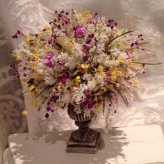 Dollhouse miniature 1:12th scale flowers