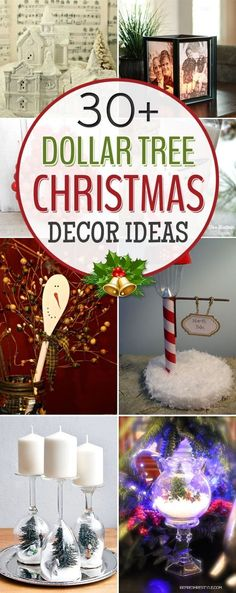 25 best Dollar store christmas decorations images on Pinterest Diy - dollar general christmas decorations