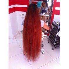 Long Red Hair, Super Long Hair, Long Layered Hair, Long Hair Cuts, Medium Hair Styles, Long Hair Styles, Beautiful Long Hair, Dream Hair, Redheads