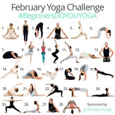 Join the February Instagram Yoga Challenge #BeginnersDOYOUYOGA 🙌 • Always wanted to start a yoga practice? 🕉  Not sure where or how to begin? 💫  Join in on all the fun this February for a chance to win some pretty amazing prizes! 🌺 This challenge is for ALL LEVELS of yogis to help us create inspiration and motivation for each other! 💞 • Follow @doyouyoga on Instagram for all the details on how to play! • Are you in?! 💚