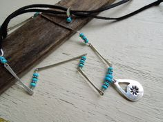 ARTisan Made Daisy Celebration in Turquoise by ARTandElements