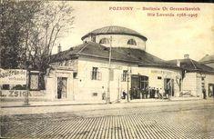 Jazdiareň na Štefánikovej ul. Bratislava, Hungary, Old Photos, Taj Mahal, Around The Worlds, Europe, Times, Buildings, Nostalgia