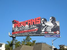 The Americans TV show billboard