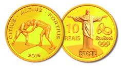 Moeda de Ouro – Luta Olímpica