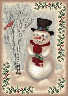 Click to buy Christmas Rugs: Winter Snowman Rug from Amazon!