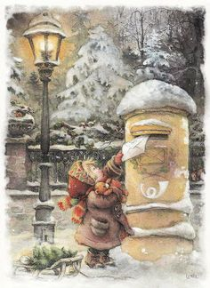 Interior & Decor: Pictures for decoupage. Christmas. Part 10