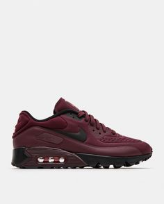 new style 7a240 858cf Nike - Air Max 90 Ultra (Night Maroon   Bright Crimson   Black)