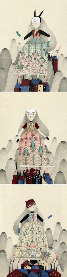 Illustrations by Claudia Legnazzi / On the Blog!