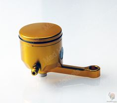 Mad Hornets - CNC Crafted Universal Brake & Clutch Master Cylinder Oil Reservior 5x4.5cm (Gold) http://www.madhornets.com