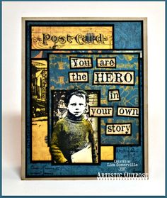 Designs by Lisa Somerville: Hero in your own Story - MOJO379