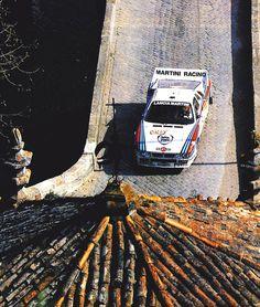 Vudafieri - Perissinot, Lancia Rally Vinho do Porto Rallye du Portugal 1983 Racing Team, Road Racing, Portugal, Martini Racing, Lancia Delta, Automobile, Rally Car, Car And Driver, Vintage Racing