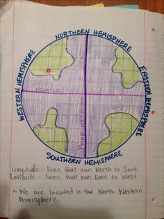 World map with longitude and latitude tropic of cancer and longitude and latitude 5th grade science journaling gumiabroncs Images