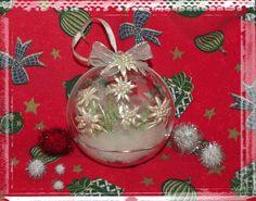 Christmas ball from Nathalie Roger Christmas Balls, Christmas Ornaments, Bulb, Holiday Decor, Home Decor, Christmas Baubles, Decoration Home, Room Decor, Christmas Jewelry