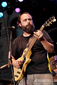 Neil Fallon of the band Clutch performs at Artscape 2012 on Saturday, July 21, 2012 in Baltimore, MD.