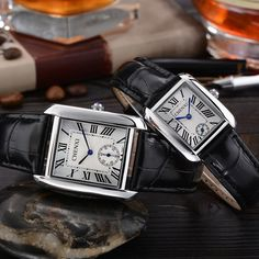 >> Click to Buy << 2017 CHENXI Lovers Quartz Watch Women Men Top Brand Luxury Wrist Watch Square Wristwatch quartz-watch Relogio Feminino Masculino #Affiliate