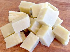 Make your own bar soap in the crockpot!
