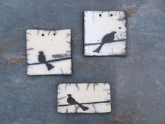 broches oiseaux raku                                                                                                                                                      Plus