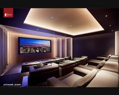 Exquisite New Media Room featuring CINEAK Strato Seats. - modern - media room - Other Metro - CINEAK luxury seating