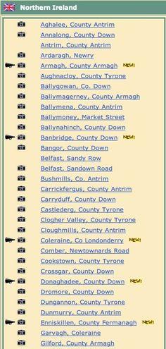 Northern Ireland (Locations A - G):  http://www.freepres.org/churchlist.asp?loc=ni