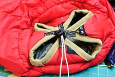 Another sleeping bag to underquilt mod
