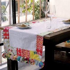 trilho de mesa patchwork