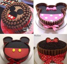 Bolos Mickey e Minnie