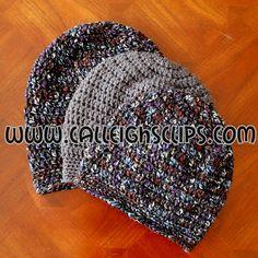 Calleigh's Clips & Crochet Creations: Sunset Slouchy Hat - Free Crochet Pattern (Kids & Preteen - Womens)
